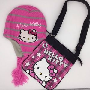 Hello Kitty Hat, Adult Size, purse available